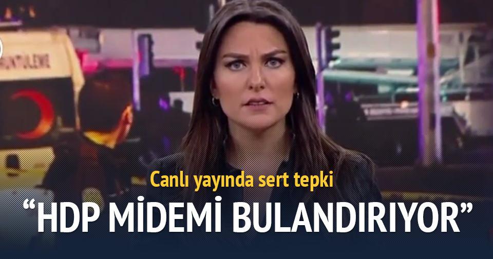 Ece Üner'den HDP'ye sert tepki