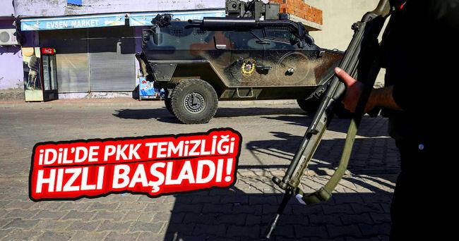 Şırnak'taki 4 terörist etkisiz hale getirildi!