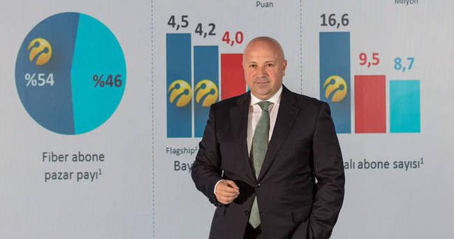 Turkcell 2015'te gelir rekoru kırdı