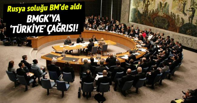 Rusya'dan BMGK'ya 'Türkiye' çağrısı