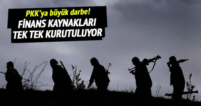PKK'nın finans kaynağına büyük darbe!