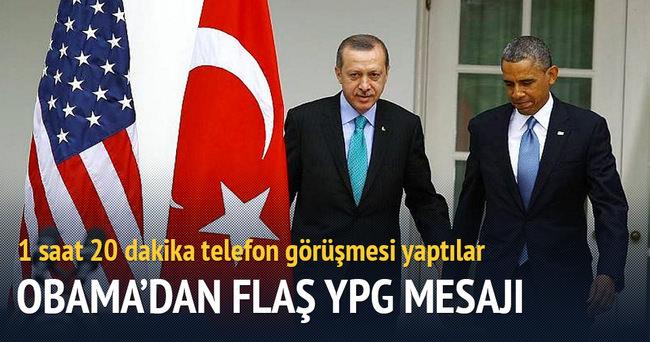 Obama Erdoğan'ı telefonla aradı
