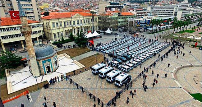 İzmir Emniyeti'ne Mustafa Koç katkısı