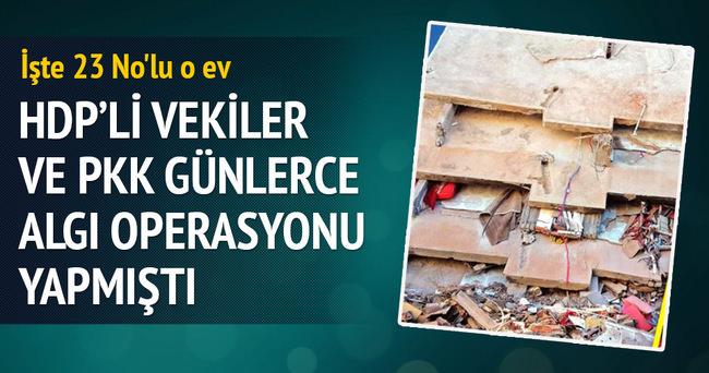 PKK ve HDP'nin yalan kaynağı 23 No'lu o ev