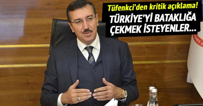 Tüfenkci'den kritik Suriye açıklaması!