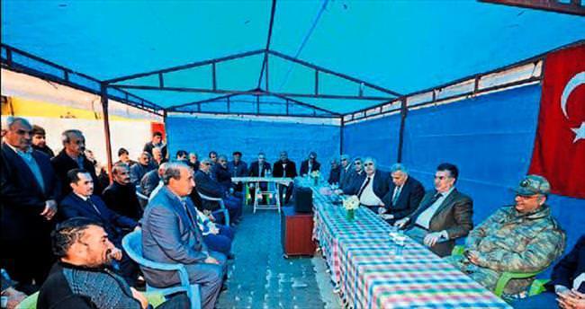 Osmaniye Valisi Kerem Al köylerde dert dinledi