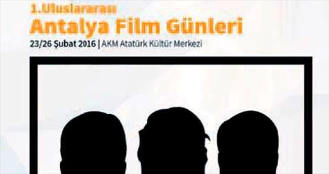 Antalya'da film günleri başlıyor
