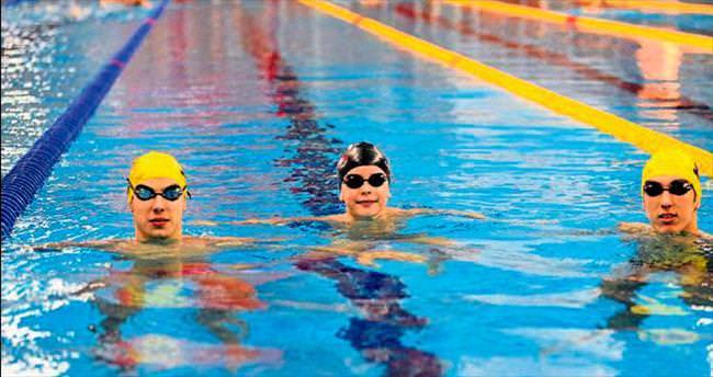 Mersin'in yüzücüleri gelecek vadediyor