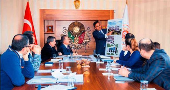 Elmadağ'da projeler masaya yatırıldı