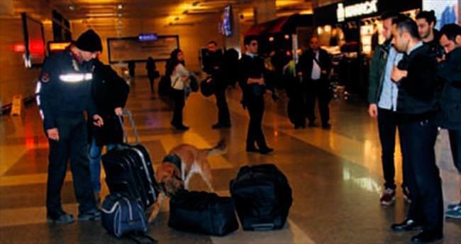 Atatürk Havalimanı K-9'larla daha da güvenli
