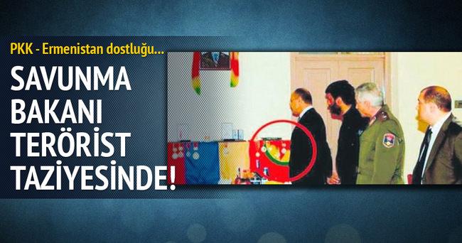 Ermenistan - PKK dostluğu böyle görüntülendi!