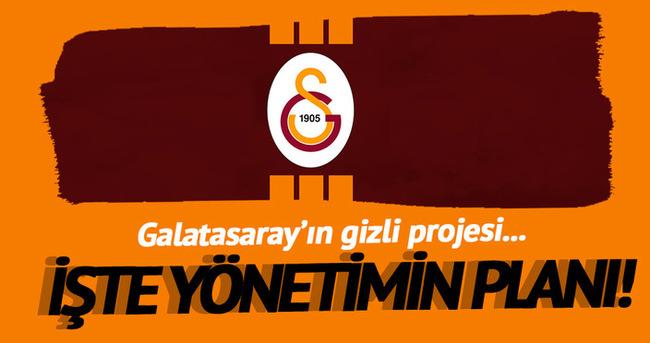 Galatasaray'ın gizli projesi