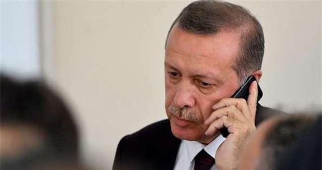 Erdoğan ve Davutoğlu AA muhabirleriyle görüştü