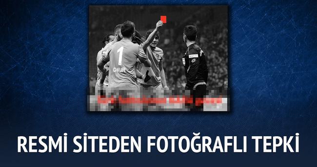 Trabzonspor resmi sitesinden tepki gösterdi