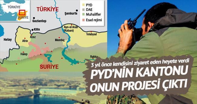 PYD'nin  kantonu Apo'nun projesi