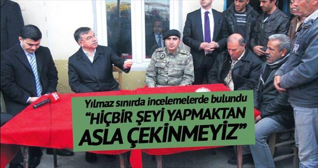 Türkiye ne gerekiyorsa yapmaktan çekinmez