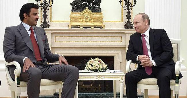 Putin, Katar Emiri Al Sani ile telefonda görüştü