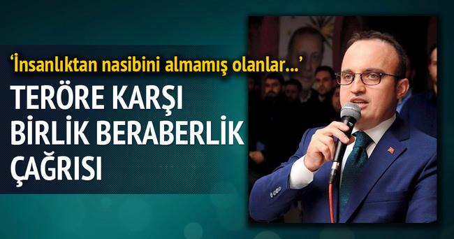Bülent Turan'dan birlik beraberlik çağrısı