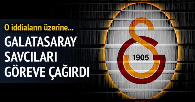 Galatasaray savcıları göreve çağırdı