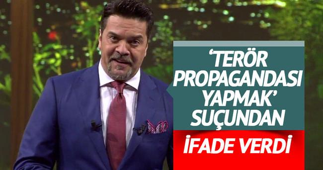 Beyazıt'a terör propagandası sorgusu