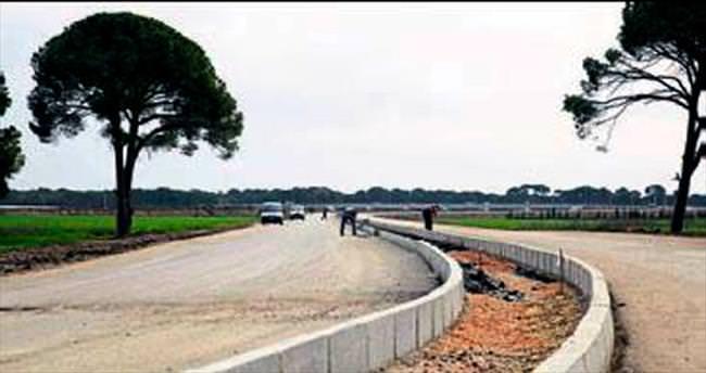 Kundu EXPO arası yeni yol yapılıyor