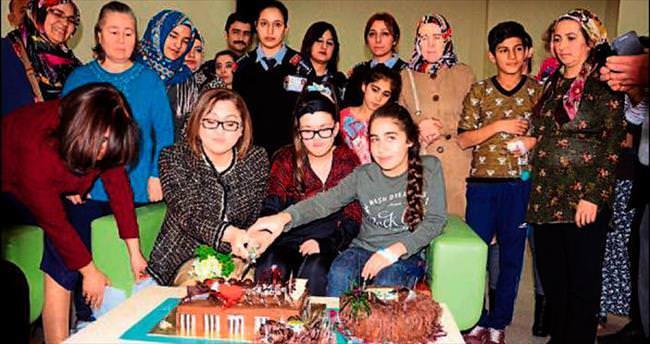 Başkan Şahin'den doğum günü sürprizi