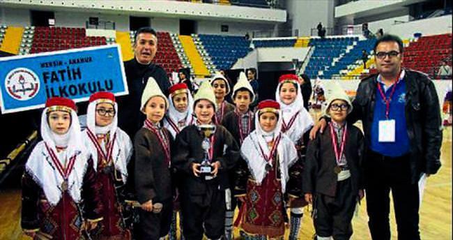 Fatih İlkokulu Mersin birincisi