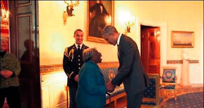 106'lık büyükanne Obama'yla dans etti