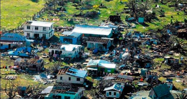 Kasırgada ölenlerin sayısı 20'ye yükseldi