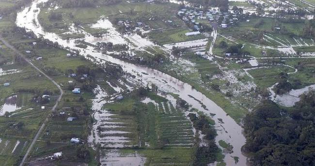 Fiji'yi hortum vurdu: 28 kişi hayatını kaybetti