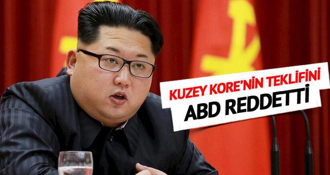 Kuzey Kore'nin barış teklifini ABD reddetti