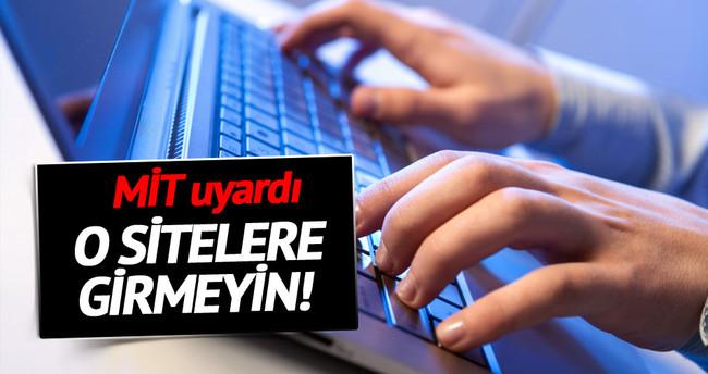 MİT sosyal paylaşım sitelerine karşı uyardı