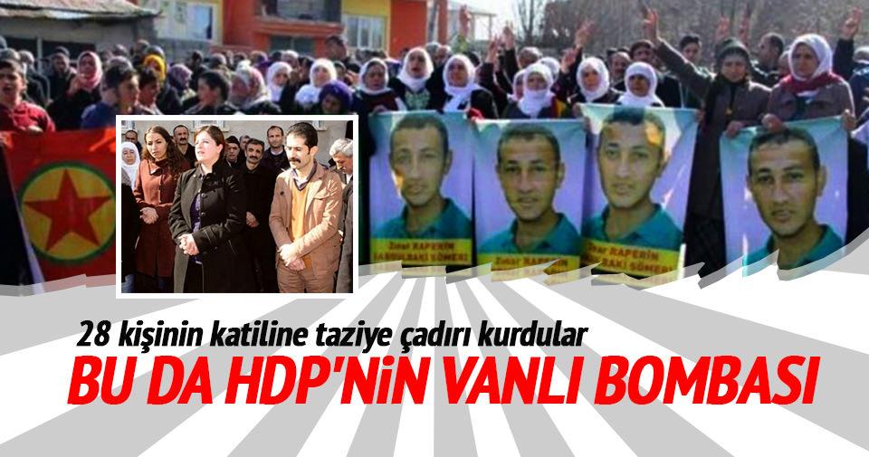 Bu da HDP'nin Vanlı bombası