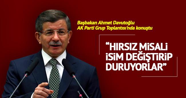 Başbakan Davutoğlu grup konuşmasında partililere seslendi!