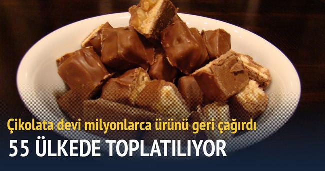 ABD'li çikolata firması mars 55 ülkede toplatılacak
