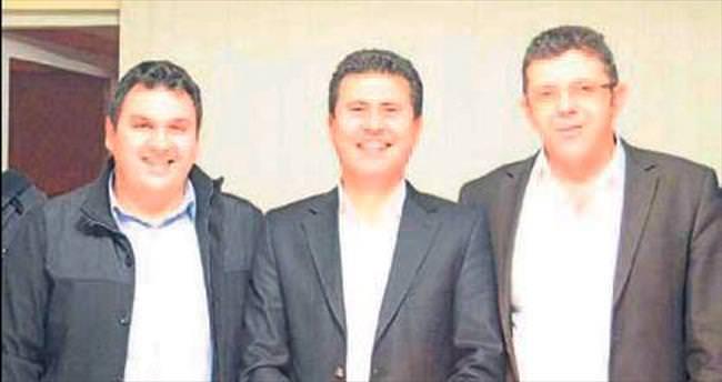 İlçe başkanlarından Yasin Öztürk'e destek