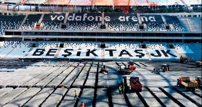 Vodafone Arena'da son viraj