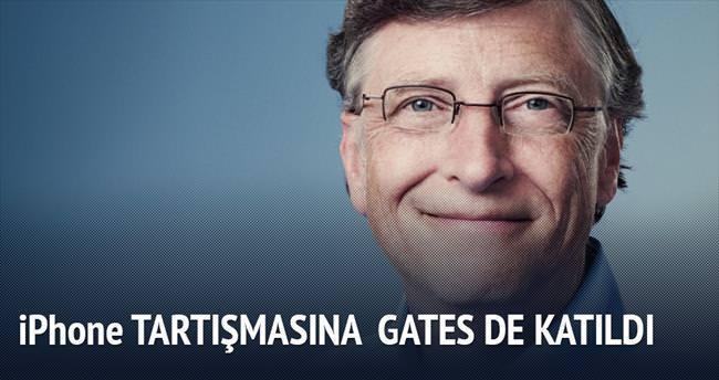 Bill Gates FBI'dan yana