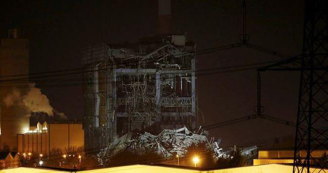 Elektrik santralinde patlama: 1 ölü, 3 kayıp