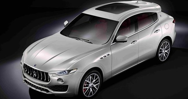 Maserati de SUV modasına uydu