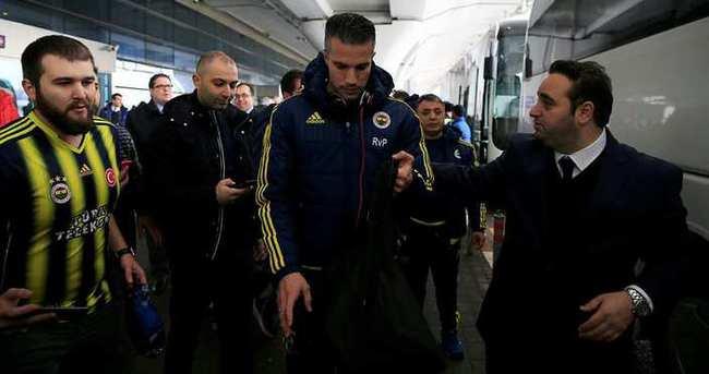 Fenerbahçe kafilesi Moskova'da