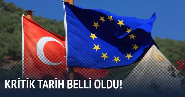 Türkiye-AB zirvesinin tarihi açıklandı