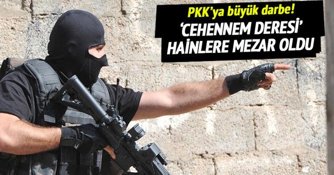 İdil'de PKK'ya büyük darbe!