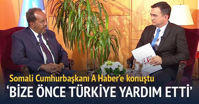 'Bize önce Türkiye yardım etti'