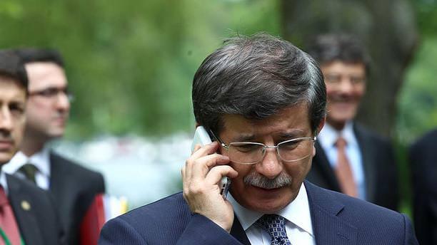 Davutoğlu'ndan Kırkıncı ailesine taziye telefonu