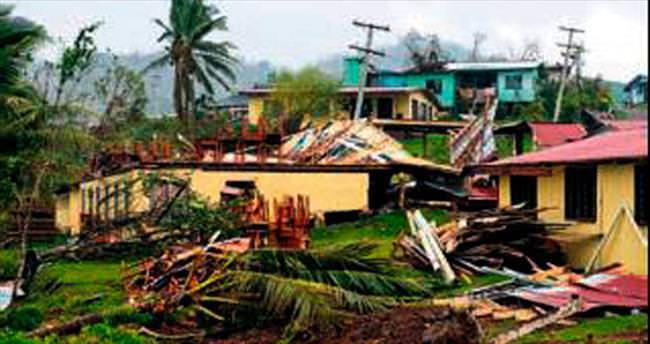 Fiji kasırgasında ölü sayısı 42'ye yükseldi