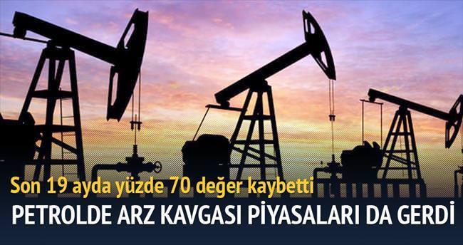 Petrolde arz kavgası piyasaları da gerdi