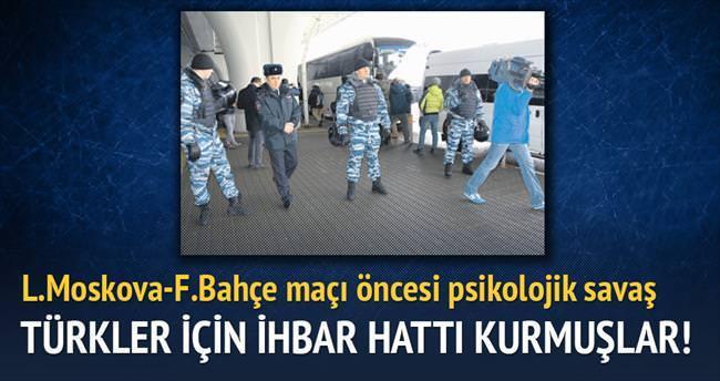 Türkler için ihbar hattı kurmuşlar