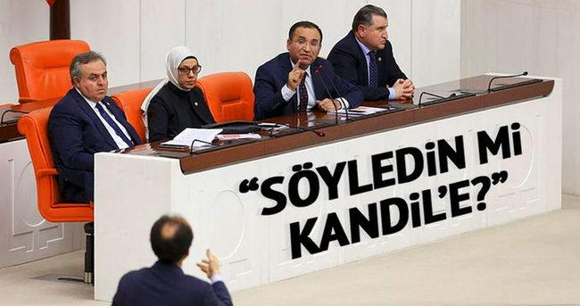 Söyledin mi Kandil'e?