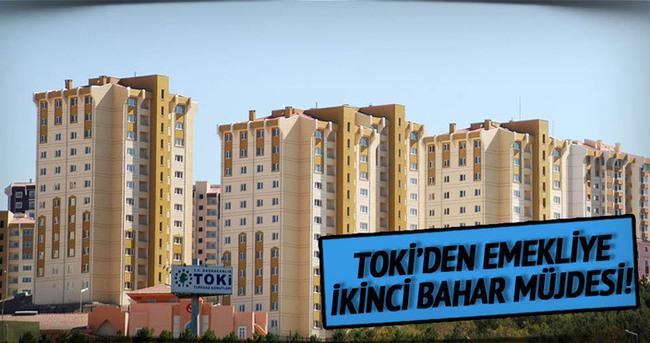TOKİ'den emeklilere yeni kampanya